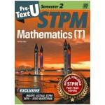 Semester 2 Pre-U Text STPM Mathematics (T)