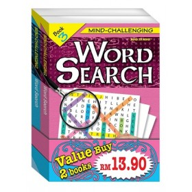 MIND CHALLENGING WORD SEARCH - BUNDLE 2
