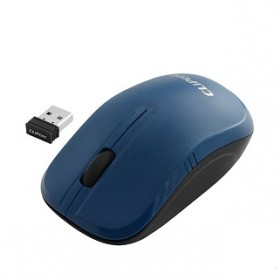 CLIPTEC RZS842 ESSENTIAL WIRELESS MOUSE - BLUE