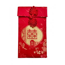 FABRIC RED PACKET - 囍 (11*19CM)
