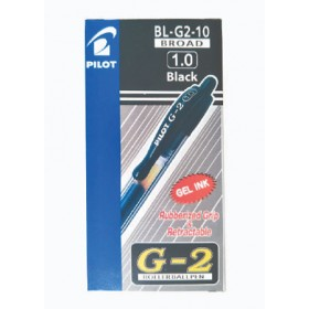 Pilot G2 Gel Pen 1.0mm Black in Dozen Pack (12 pieces)