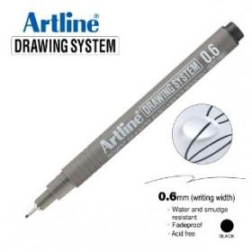 ARTLINE EK236 DRAWING SYSTEM 0.6MM BLACK