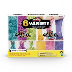 PLAY DOH SAND VARIETY PACK