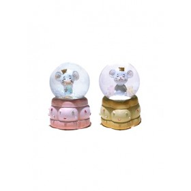 MINI CRYSTAL BALL- MOUSE TR-BE60328