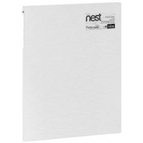 FOLDERMATE NEST SERIES DISPLAY BOOK A4 20 POCKETS - WHITE