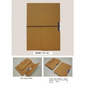 ECOMAZ Journal Craft 18K Plain 80 sheets 100g paper