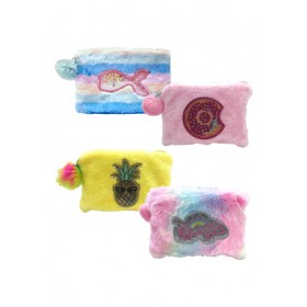 FLUFFY PENCIL BAG F2079