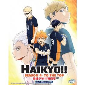 HAIKYŪ!! S4:TO THE TOP +2OVA (3DVD)