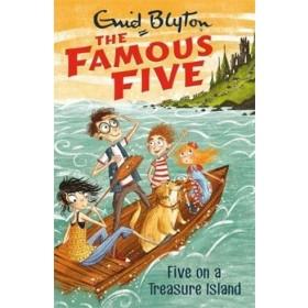 FamousFiveNew1 FIVE ON TREASURE ISLAND