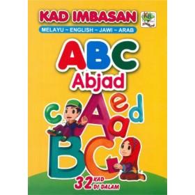 KAD IMBASAN 4 BAHASA: ABC ABJAD