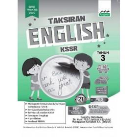 Tahun 3 Taksiran English