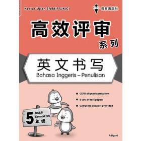 五年级高效评审系列英文书写