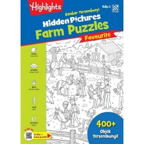 HIDDEN PICTURES THE FARM PUZZLES BOOK 2