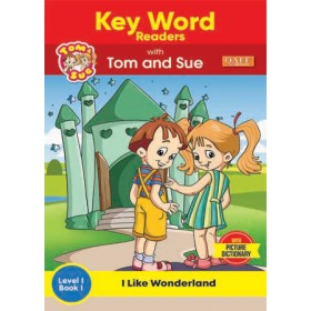 KEY WORDS READERS WITH TOM AND SUE (SET)