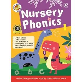NURSERY BRIGHT KIDS BOOKS - PHONICS BOOK 1