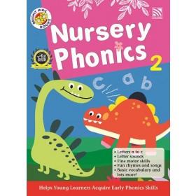 NURSERY BRIGHT KIDS BOOKS - PHONICS BOOK 2