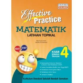 Tahun 4 Effective Practice Latihan Topikal SK Matematik