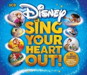 DISNEY SING YOUR HEART OUT! (3CD)