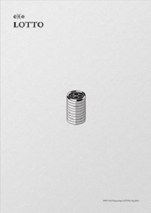 EXO - LOTTO (3rd Repackage Album) - Korean