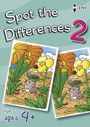 Spot the Differences - Book 2