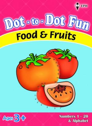 Dot-to-Dot Fun - Food & Fruits
