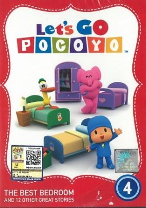 Let's Go Pocoyo Vol.4 The Best Bedroom (DVD)