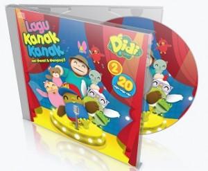 CD - LAGU KANAK - KANAK DIDI & FRIENDS V