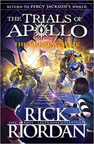 TRIALS OF APOLLO #03 BURNING MAZE