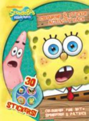 C-SPONGEBOB COLOURING & STICKER ACTIVTY
