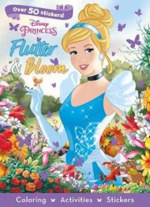 Disney Princess Flutter & Bloom: Coloring, Activities, Stickers