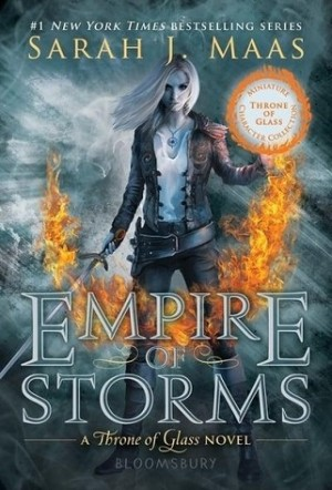 THRONE OF GLASS #05: EMPIRE OF STORMS