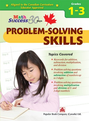 Grade 1-3 Math Success Problem-solving Skills