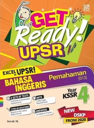 Tahun 4 Get Ready! UPSR Bahasa Inggeris (Pemahaman)