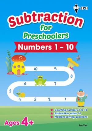 Subtraction for Preschoolers - Numbers 1-10