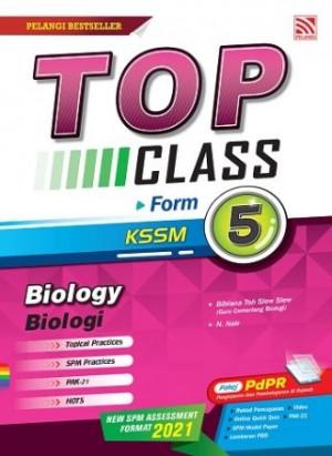 TINGKATAN 5 TOP CLASS BIOLOGY