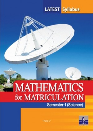 Semester 1 Mathematics (Science) For Matriculation