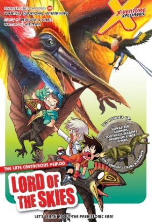 X-VENTURE DINOSAUR KINGDOM 08: LORD OF THE SKIES