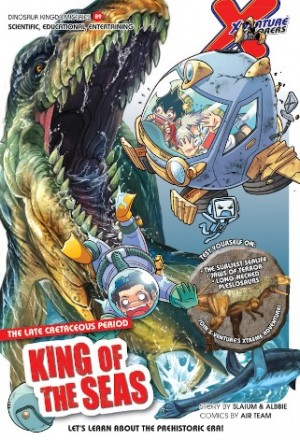 X-VENTURE DINOSAUR KINGDOM 09: KING OF THE SEAS