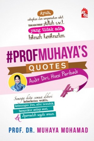 #PROFMUHAYA'S QUOTES