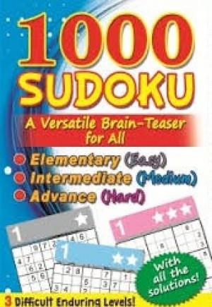 1000 SUDOKU: (BLUE) A VERSATILE BRAIN