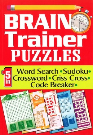 BRAIN TRAINER PUZZLES (5 IN 1)