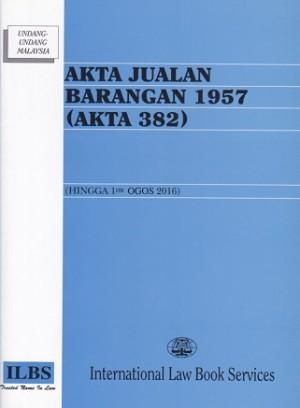 AKTA JUALAN BARANGAN 1957 (AKTA 382)