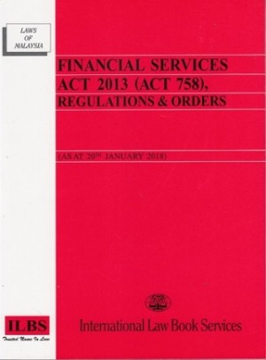 FINANCIAL SERVICES ACT 2013 (ACT 758)