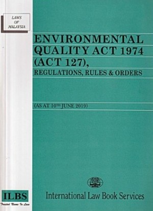 ENVIRONMENTAL QUALITY ACT 1974 (ACT 127)