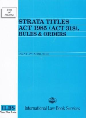 STRATA TITLES ACT 1985 ( ACT 318 )