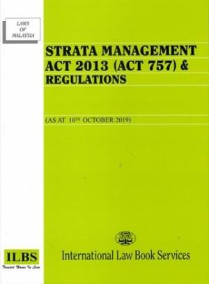 STRATA MANAGEMENT ACT 2013 (ACT 757)