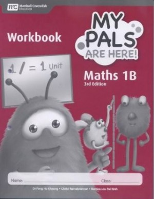1B My Pals are Here! Maths Workbook (3rd Edition)