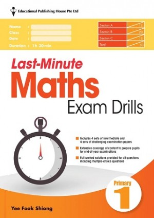 Primary 1 Last-Minute Maths Exam Drills