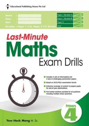 Primary 4 Last-Minute Maths Exam Drills