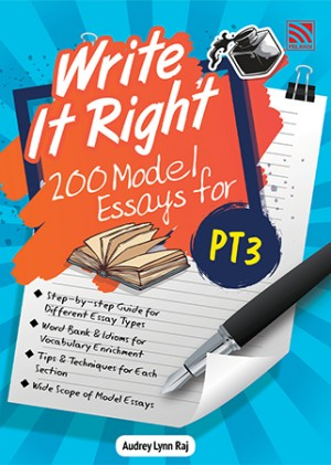 PT3 WRITE IT RIGHT! 200 MODEL ESSAYS